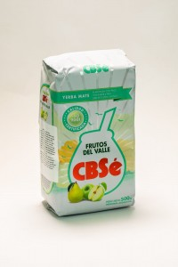 Yerba Mate CBS'e Frutos del Valle Owoce Doliny 500g